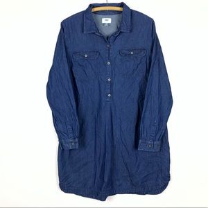 🌿 old navy jean dress